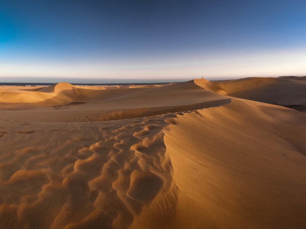 Gran Canaria Dünenlandschaft